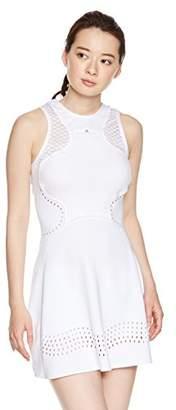 adidas (アディダス) - [アディダス] テニスウェア aSMC Q3 Dress ワンピース EUF26 [レディース] ホワイト (CY1904) 日本 OT (日本サイズ2L相当)