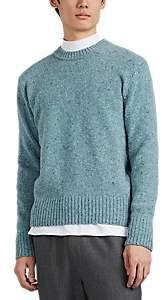 Ami Alexandre Mattiussi Men's Merino Wool Crewneck Sweater - Lt. Green