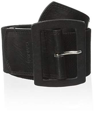 Calvin Klein Women's Linen Stretch Belt