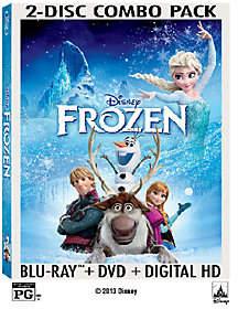 Disney's Frozen Two-Disc Blu-Ray