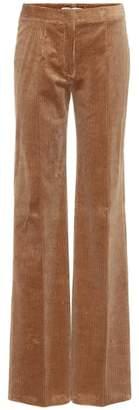 Agnona Corduroy flared pants