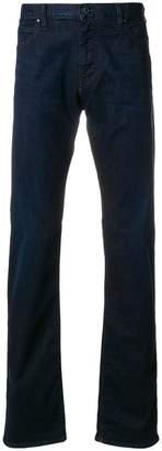 Emporio Armani mid-rise booctcut jeans