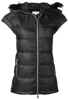 MICHAEL Michael Kors quilted gilet jacket