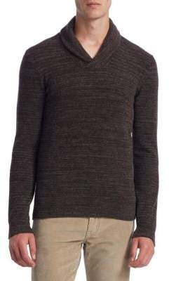 Saks Fifth Avenue COLLECTION Shawl Collar Sweater