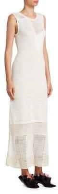 Proenza Schouler Knit Patchwork Dress