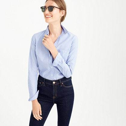 Everyday shirt in end-on-end cotton