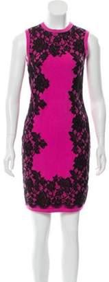 Michael Kors Sleeveless Cashmere Dress Pink Sleeveless Cashmere Dress