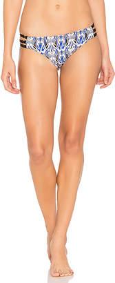 Ella Moss Tribal Romance Side Strap Bikini Bottom