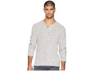 Joe's Jeans Wintz Long Sleeve Melange Thermal Henley