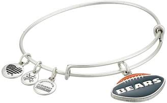 Alex and Ani Color Infusion Chicago Bears Football II Bangle Bracelet