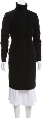 Helmut Lang Knee-Length Long Sleeve Coat
