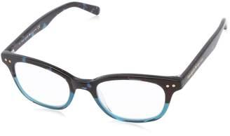 Kate Spade Women's Rebec Rectangular Reading Glasses, 1.0