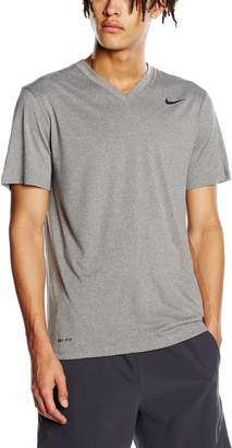 Nike Legend 2.0 Men's V-Neck Shirt - Grey