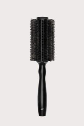 H&M Round Hair Brush - Black - Women
