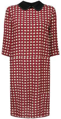 Marni micro-pattern dress