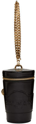 Balmain Black Mini Starbag Bag