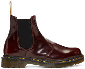 Dr. Martens Red 2976 Vegan Chelsea Boots