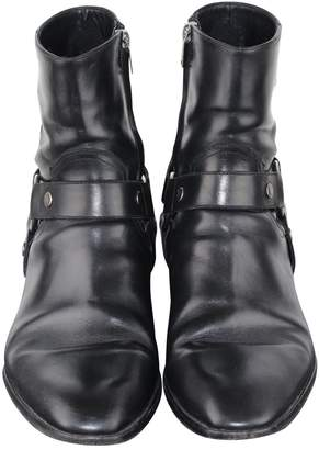 Saint Laurent Leather boots