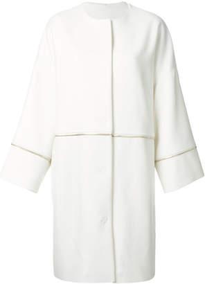 Class Roberto Cavalli oversized zip detail coat
