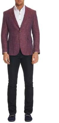 Robert Graham Jeremy Notch Collar Tailored Fit Sportcoat