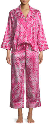 Natori Abstract Maze Classic Pajama Set
