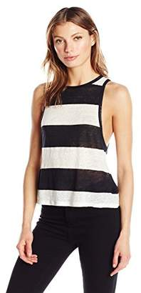 KENDALL + KYLIE Women's Striped Low-Cut Tank