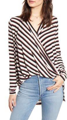 Vero Moda Wrap High/Low Knit Top