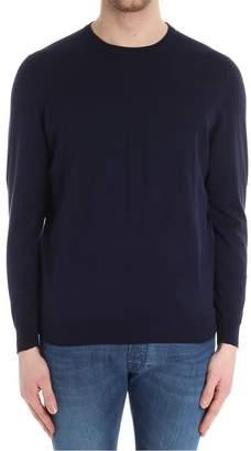 Drumohr Round Neck Cotton Cashmere