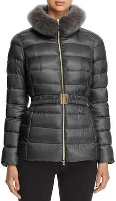 Herno Claudia Fur-Collar Down Coat