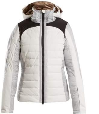 CAPRANEA Cloud detachable-hood quilted-down ski jacket