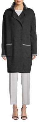 Tomas Maier Classic Wool Coat