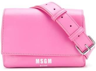 MSGM micro logo bum bag