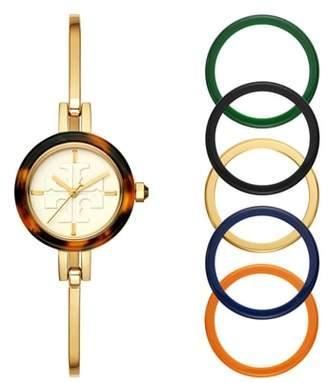 Tory Burch Gigi Bangle Bracelet Watch Set, 28mm