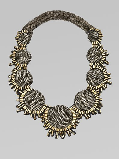 Vera Wang Multi-Stone Bib Necklace