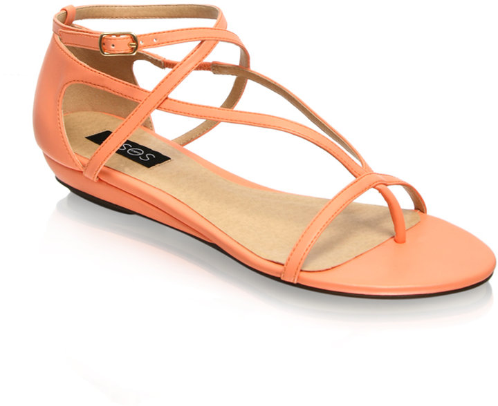 ASOS Strapped Flat Sandals