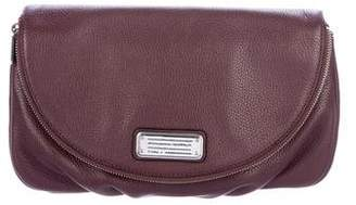 Marc by Marc Jacobs Grained Leather Flap Clutch