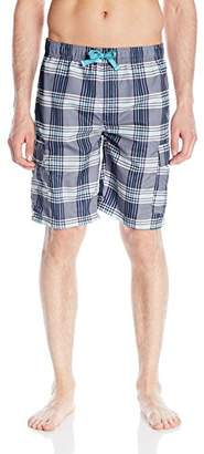 U.S. Polo Assn. Men's Plaid Cargo Short