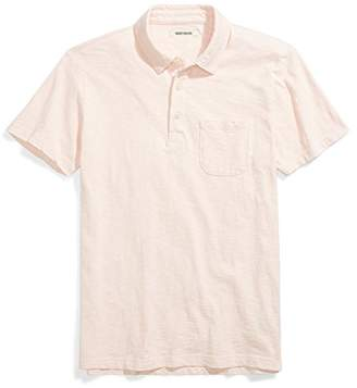 Goodthreads Men's Lightweight Slub Polo