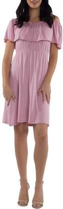 Udderly Hot Mama Reagan Maternity/Nursing Dress