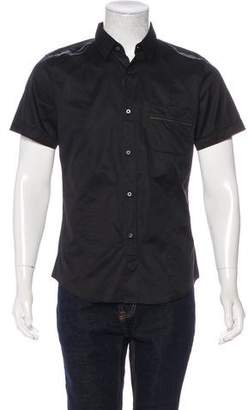 Gucci 2012 Web-Trimmed Short Sleeve Shirt w/ Tags