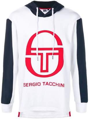 Sergio Tacchini contrast logo hoodie