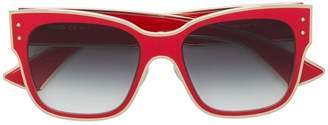 Moschino square shaped sunglasses