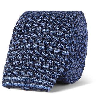 Rubinacci 6cm Knitted Silk Tie