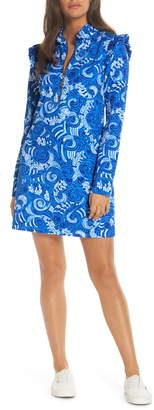 Lilly Pulitzer Skipper UPF 50+ Ruffle Shift Dress