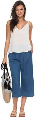 Roxy Junior's Go Right Pull on Wide Leg Pant