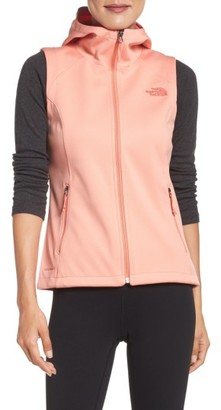 Women's The North Face Canyonwall Hardface Fleece Vest $90 thestylecure.com