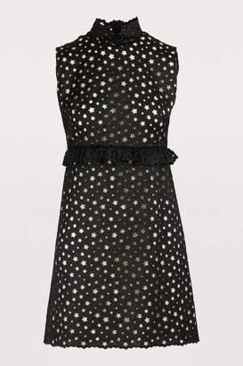 Miu Miu Star detail mini dress