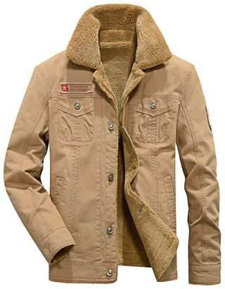 Blend of America Kedera 2018 Men's Winter Wool Warm Thicken Jacket Stand Collar Coat Outerwear