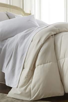 IENJOY HOME Home Spun All Season Premium Down Alternative King Comforter - Ivory