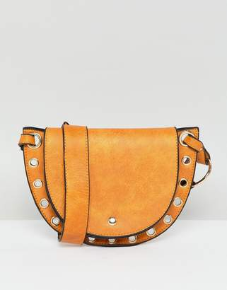 ca099e19e9065 Yoki Fashion YOKI studded saddle bag